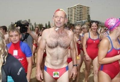 Tony Abbott's 'budgie smugglers'