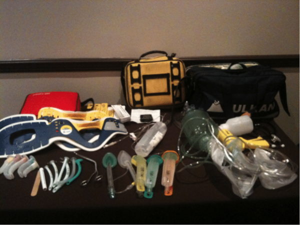 Pitchside Medical kit