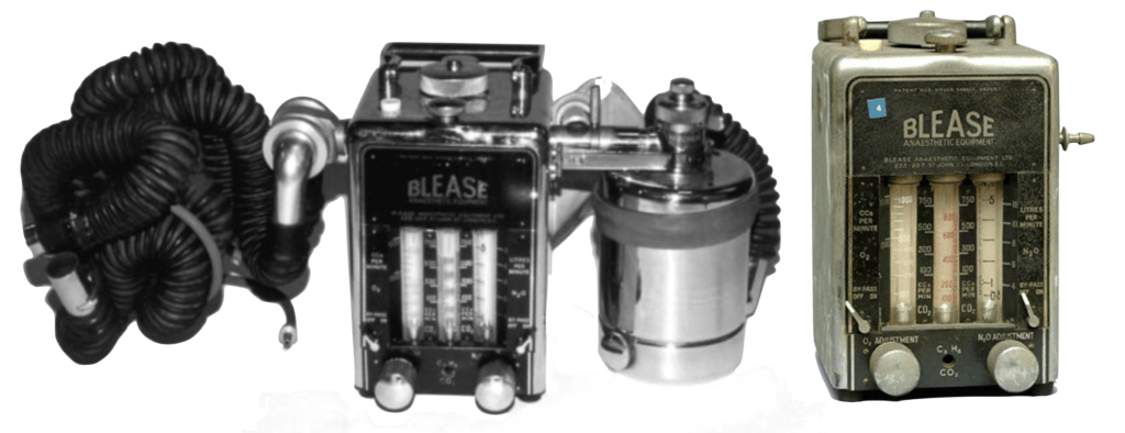 Alfo-Blease anaesthetic machine 2