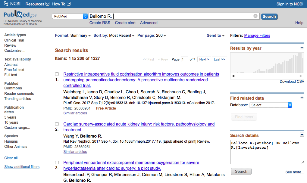 a PubMed search with 1227 results is just kind of funny to someone like me!