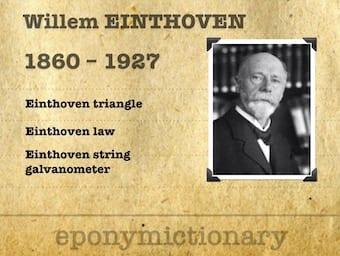 Willem Einthoven (1860 - 1927) 340