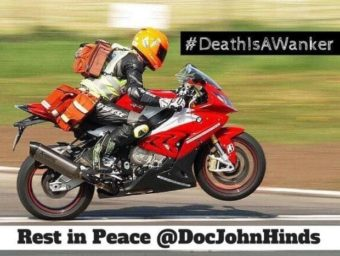 John Hinds Death is a Wanker