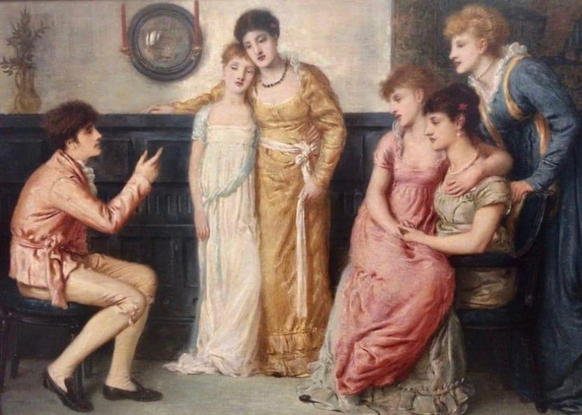Mansplaining Renaissance style