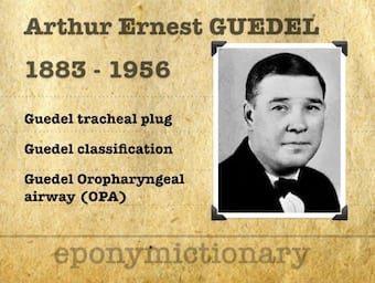 Arthur Ernest Guedel (1883 – 1956) 340 1