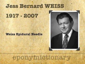 Jess Bernard Weiss (1917 – 2007) 340