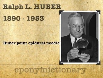 Ralph L Huber (1890-1953) 1