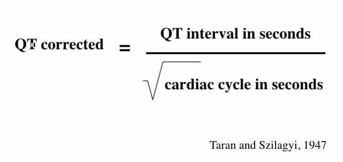 QTc QT interval Taran-and-Szilagyi-1947