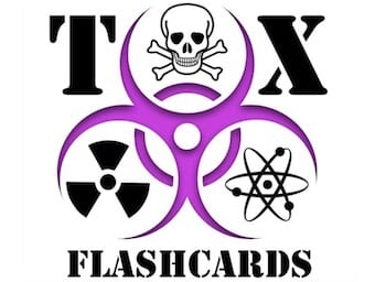 Toxicology Flashcards 340