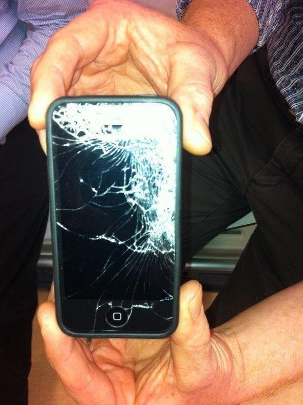 iPhone trauma