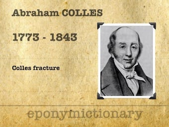 Abraham Colles (1773 – 1843) 340