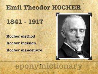 Emil Theodor Kocher (1841 – 1917) 340