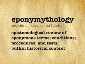 Eponymythology LITFL eponym review 340