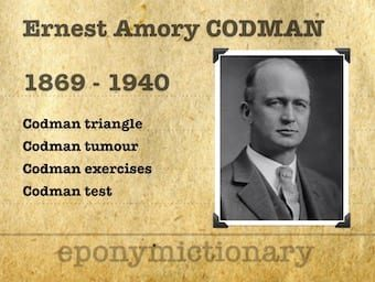 Ernest Amory Codman (1869 – 1940) 340