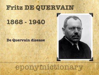 Fritz de Quervain (1868 – 1940) 340