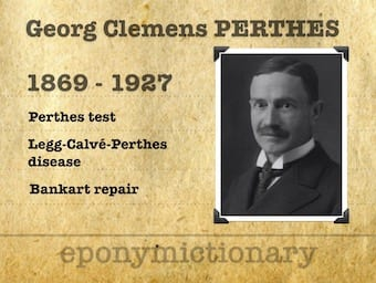 Georg Clemens Perthes (1869 – 1927) 340