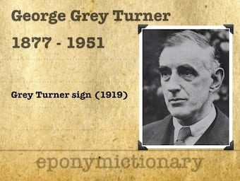 George Grey Turner (1877 – 1951) 1