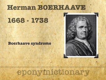 Hermann Boerhaave (1668 – 1738) 340