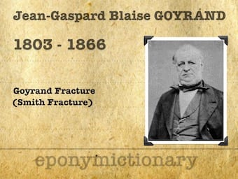 Jean-Gaspard Blaise Goyrand (1803 – 1866) 340