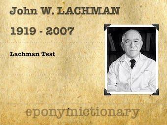 John W Lachman (1919-2007) 340