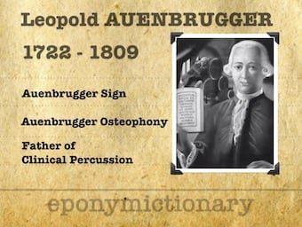 Josef Leopold Auenbrugger von Auenbrugg (1722 – 1809) 340