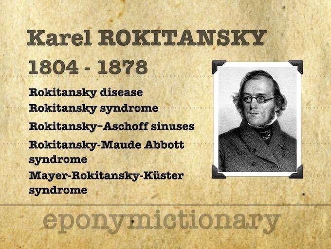 Karel Freiherr von Rokitansky (1804-1878) 680