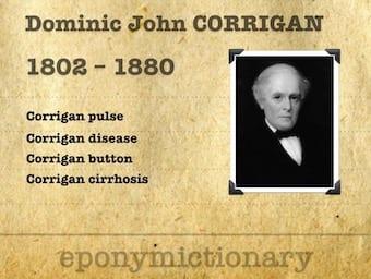 Sir Dominic John Corrigan, 1st Baronet (1802 – 1880) 340