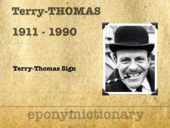 Terry-Thomas (1911 – 1990) 340