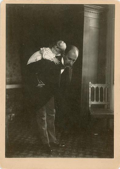 William Osler and his Son, Edward Revere Osler