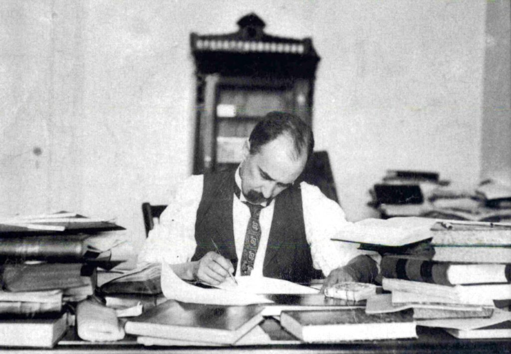 Sir William Osler at work