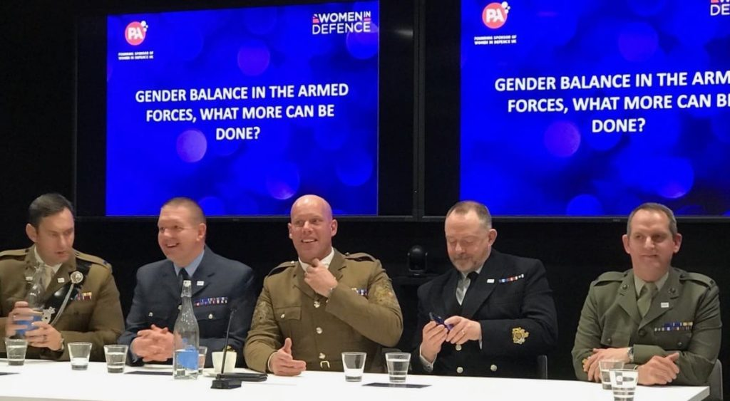 Gender balances in the armed forces what more can be done