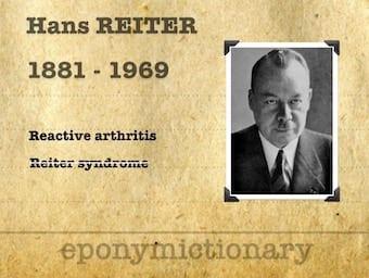Hans Conrad Julius Reiter (1881 – 1969) 340