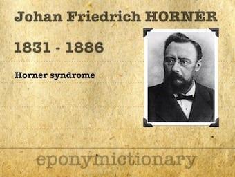 Johann Friedrich Horner (1831 – 1886)