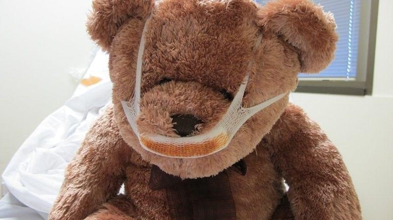 LITFL 12 days 005 Bear ENT