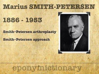Marius Nygaard Smith-Petersen (1886 – 1953) 340
