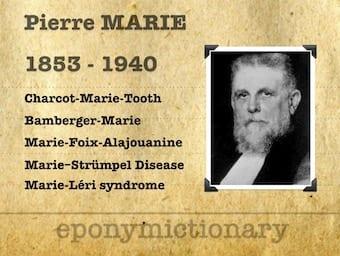 Pierre Marie (1853 - 1940) 340