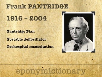 "Professor James Francis ""Frank"" Pantridge (1916-2004) 340"