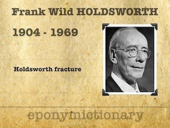 Sir Frank Wild Holdsworth (1904 – 1969) 340