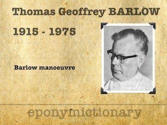 Thomas Geoffrey Barlow (1915 – 1975) 340