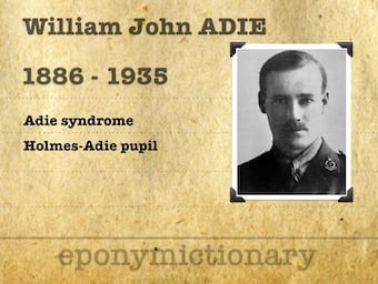 William John Adie (1886 – 1935)