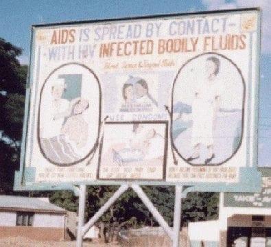 Zambia-AIDS-education-poster