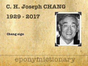 C. H. Joseph Chang (1929 - 2017) 340