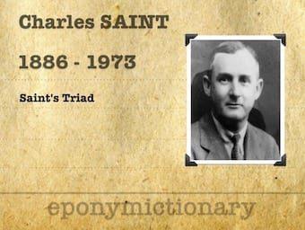 Charles Frederick Morris Saint (1886 - 1973) 1200