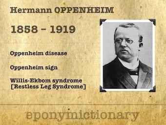 Hermann Oppenheim (1858-1919) 340