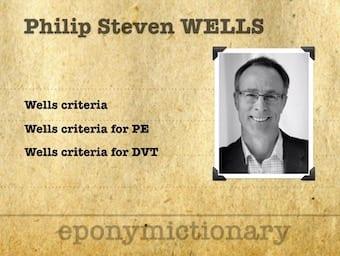 Philip Steven Wells criteria PE DVT 340