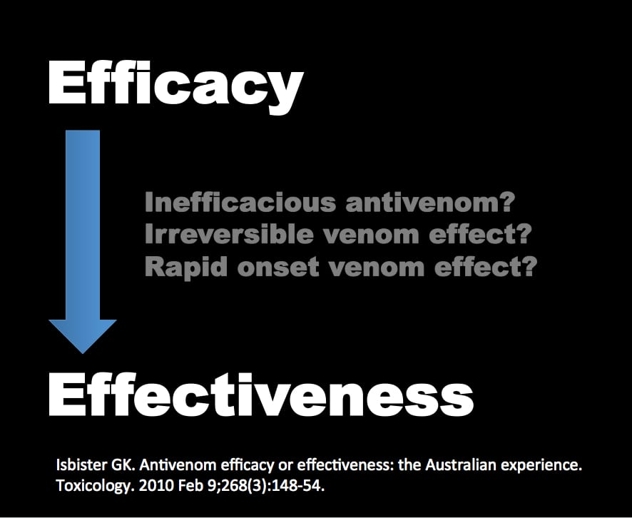 antivenom-efficacy-and-effectiveness