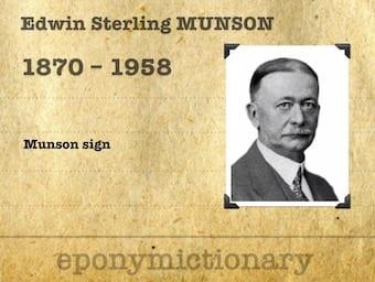 Edwin Sterling Munson (1870-1958) 340