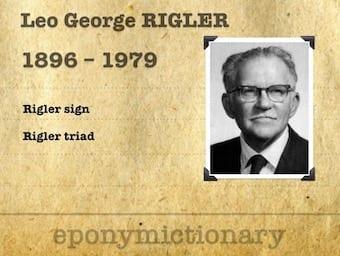 Leo George Rigler (1896 - 1979) 340
