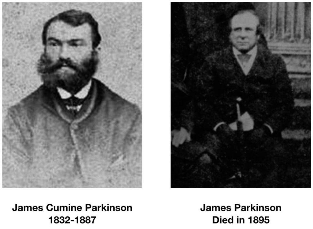 The wrong James Parkinson of Parkinson disease