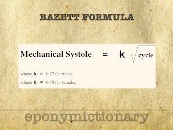Bazett formula 340 1