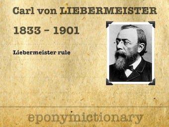 Carl von Liebermeister (1833-1901) 340